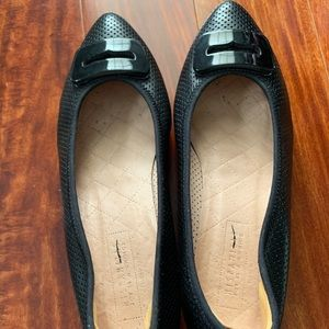 Hispanitas Block Heel Leather Black Pumps $280